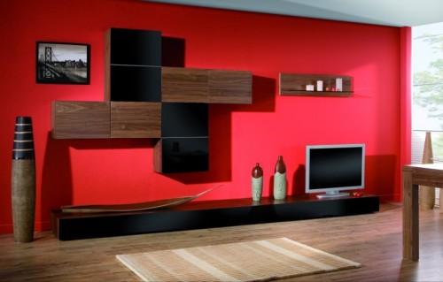 Piękny salon z meblami Krysiak - Zdjęcie 1