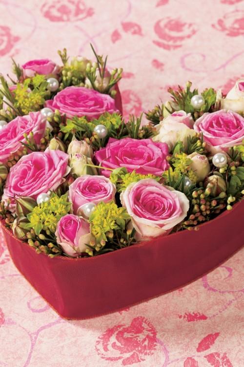 Kwiaty na Walentynki - Zdjęcie 1