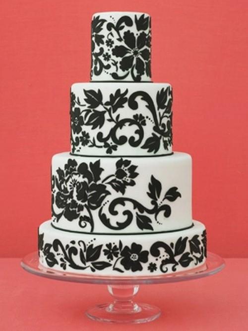 Piętrowe torty weselne - Zdjęcie 1