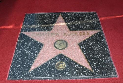 Christina Aguilera ma swoją gwiazdę w hollywoodzkiej Alei Slaw