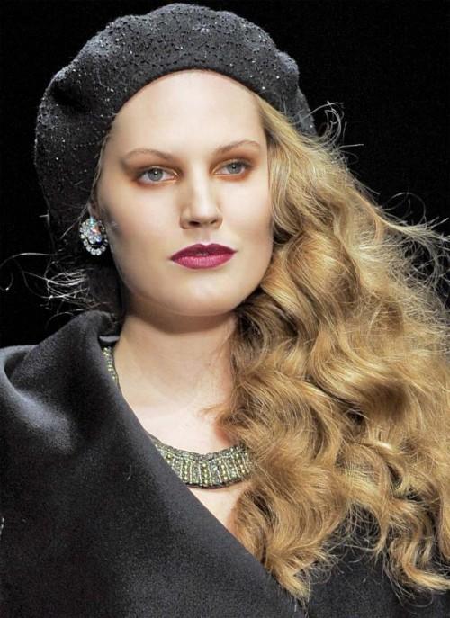 trendy, włosy, fryzury, rozpuszczone, jesień-zima 2011/12