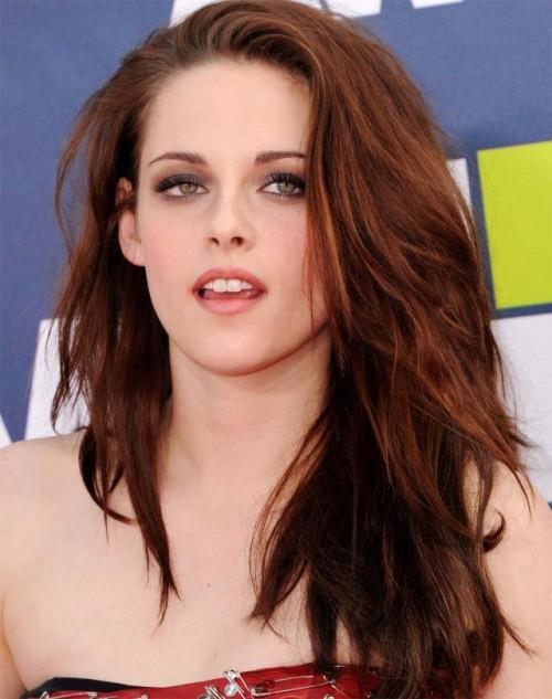 Kristen Stewart, <b>nagie</b> usta, makijaż, jesień, trendy, 2011