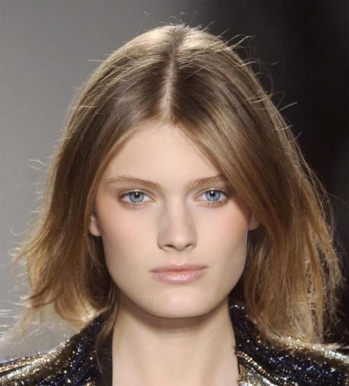 włosy, trend, fryzura, paź