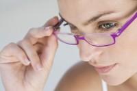 kobieta, okulary