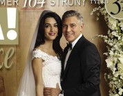 George Clooney i Amal Alamuddin na okładce Vivy