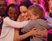 Kids Choice Awards - Angelina Jolie córki Zahara i Shiloh