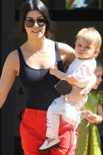 Stylowa mama - Kourtney Kardashian
