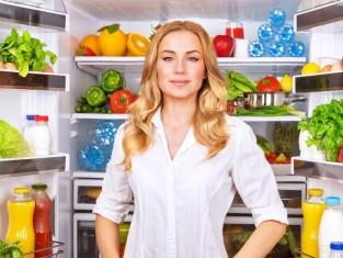 jedzenie, dieta, lodówka, odchudzanie, owoce i warzywa/fot. Fotolia/Edipresse