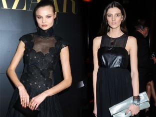 <b>Znane</b> polskie <b>modelki</b> w czarnych sukienkach maksi [zdjęcia]