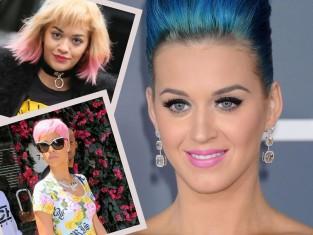 Kolorowe włosy gwiazd