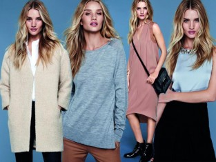 Rosie Huntington-Whiteley dla Marks & Spencer jesień 2014