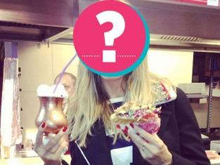 Gwiazdy na diecie - zdjęcia celebrytów jedzących fast foody