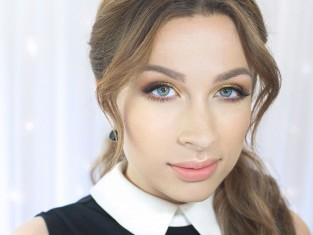 Makijaż dla niebieskich oczu krok po kroku [video]