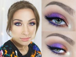 Katosu makijaż dla brązowych oczu