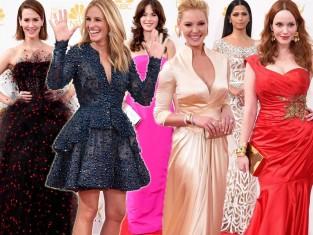 Emmy Awards 2014 - kreacje gwiazd