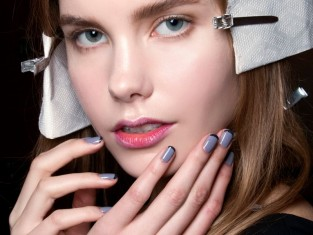 Kolorowy french manicure