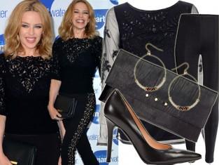 Kylie Minogue w czerni