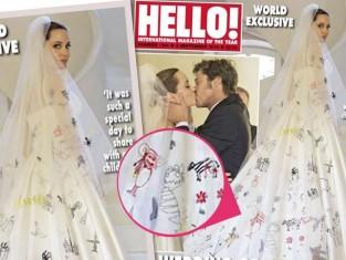 Ślub Angeliny Jolie i Brada Pitta