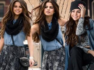 Selena Gomez - kolekcja adidas Neo jesień 2014