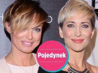 Magda Steczkowska, Katarzyna Sokołowska fryzura