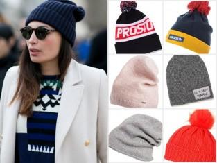 Modna czapka na zimę 2015
