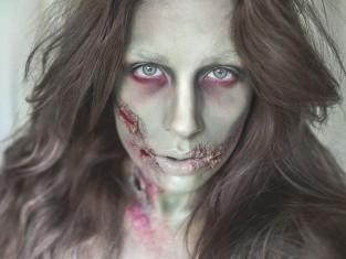 Makijaż na Halloween 2014 krok po kroku