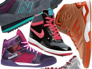 Sportowe buty za kostkę zima 2015