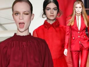 Kolor czerwony - Trendy sezonu