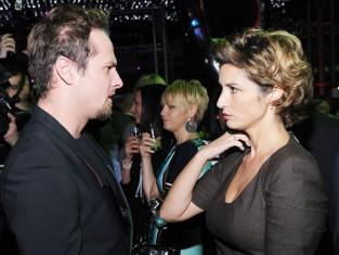 Joanna Brodzik i Paweł Małaszyński