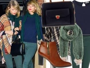 Taylor Swift w jesiennej stylizacji