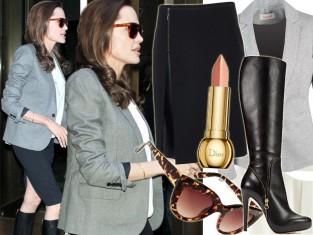 Angelina Jolie w Nowym Jorku