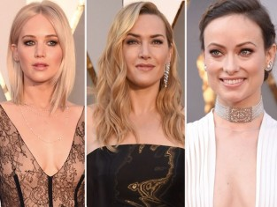 Makijaże i fryzury gwiazd Oscary 2016