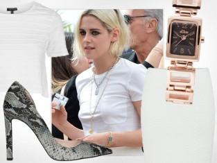 Kristen Stewart w spódnicy Chanel