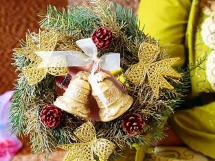 jak zrobić wieniec świąteczny, jak zrobić wianek na święta