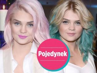 Pojedynek - kolorowe włosy Margaret