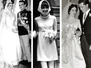 słynne sukienki ślubne