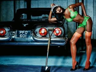Naomi Campbell dla Agent Provocateur