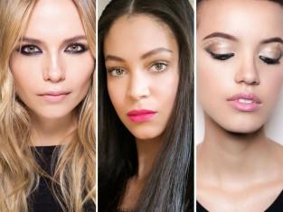 Modne makijaże 2016 - najmodniejsze makijaże na jesień-zima 2016