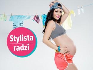 Kobieta w ciąży - sportowy look