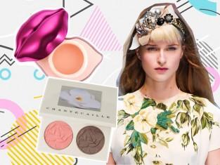 Makijaż z pokazu - kosmetyki
