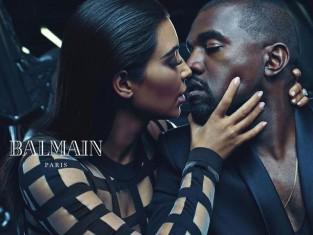 Balmain z Kardashian i Westem