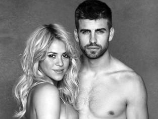 Shakira w ciąży z mężem Gerardem Pique