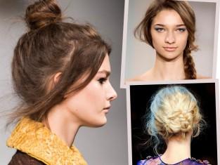 Szybkie modne fryzury w 2 minuty