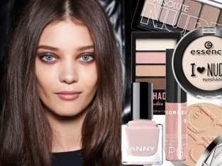 Kosmetyki nude - makijaż nude na 2015