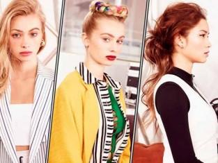 Upięcia włosów - pomysły wiosna 2015