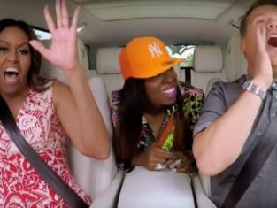 "Michelle Obama śpiewa ""Single Ladies: Bayonce, Obama Carpool Karaoke"