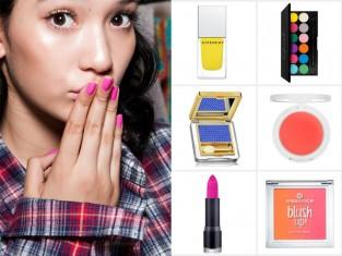 Neonowe kosmetyki 2015