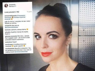 Anna Wendzikowska ofiarą fryzjera