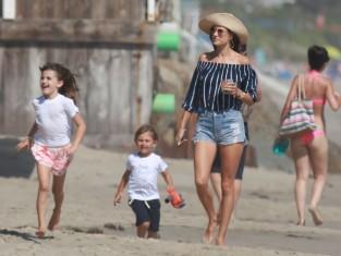 Alessandra Ambrosio z dziećmi