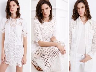 Zara - białe ubrania - Trend wiosna 2015